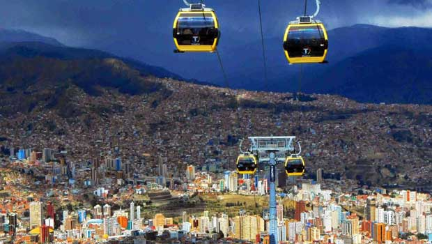Officially known as Nuestra Señora de La Paz, also named Chuqi Yapu (Chuquiago) in Aymara, is the seat of government and the de facto national capital of the Plurinational State of Bolivia.